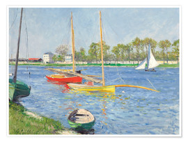 Premium poster The Seine at Argenteuil
