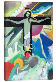 Canvas print  crucified Christ - Wassily Kandinsky