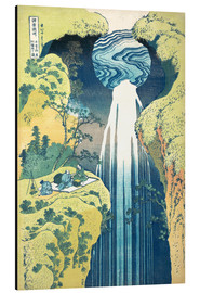 Aluminium print  Waterfall of Amida at the Kiso Street - Katsushika Hokusai