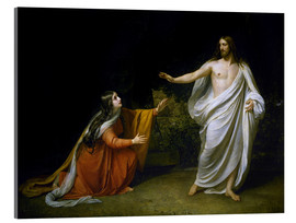 Acrylic print  Christ's Appearance to Mary Magdalene after the Resurrection - Aleksandr Andreevich Ivanov