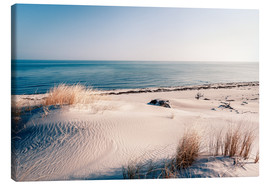 Canvas print  Sand dunes and the ccean - Sascha Kilmer