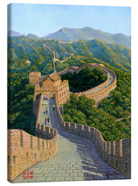 Canvas print  Great Wall of China   Mutianyu Section 1 - Richard Harpum