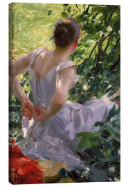 Canvas print  In the Woods - Anders Leonard Zorn
