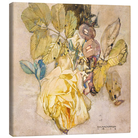 Canvas print  Winter rose - Charles Rennie Mackintosh