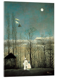 Acrylic print  A carnival evening - Henri Rousseau