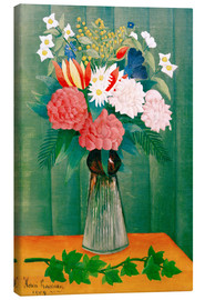 Canvas print  Bouquet on the branch of ivy - Henri Rousseau