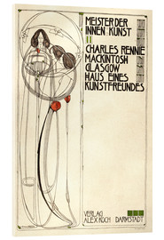 Acrylic print  House of an art lover: Cover - Charles Rennie Mackintosh