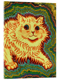 Acrylic print  Electric Cat - Louis Wain