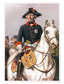 Premium poster Frederick the Great