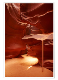 Premium poster  Upper Antelope Canyon - David Wall