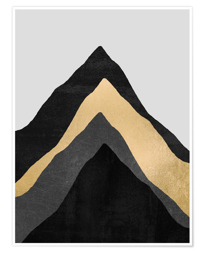 Premium poster Four Mountains