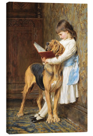 Canvas print  Compulsory education - Briton Riviere