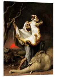 Acrylic print  Power Of Death - William Holbrook Beard