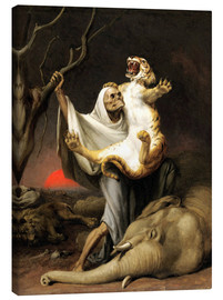 Canvas print  Power Of Death - William Holbrook Beard