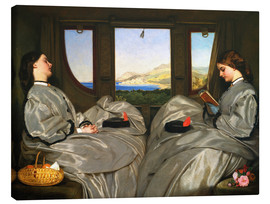 Canvas print  The Travelling Companions - Augustus Leopold Egg