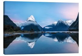 Canvas print  Milford Sound, New Zealand - Matteo Colombo
