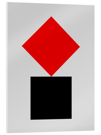 Acrylic print  SUPREMATISM - THE USUAL DESIGNERS
