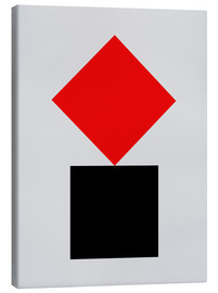 Canvas  SUPREMATISM - THE USUAL DESIGNERS