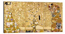 Aluminium print  The tree of life (Detail) - Gustav Klimt