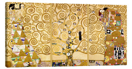 Canvas print  The tree of life (Detail) - Gustav Klimt