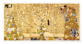 Premium poster  The tree of life (Detail) - Gustav Klimt