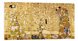 Foam board print  The Tree of Life (Complete) - Gustav Klimt