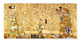 Premium poster  The Tree of Life (Complete) - Gustav Klimt