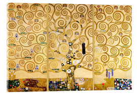 Acrylic glass  The Tree of Life - Gustav Klimt