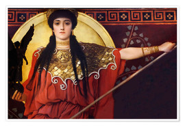 Poster  Ancient Greece (Athene, Zwickel image) - Gustav Klimt