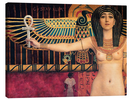 Canvas  Ancient Egypt (Isis, Zwickel image) - Gustav Klimt