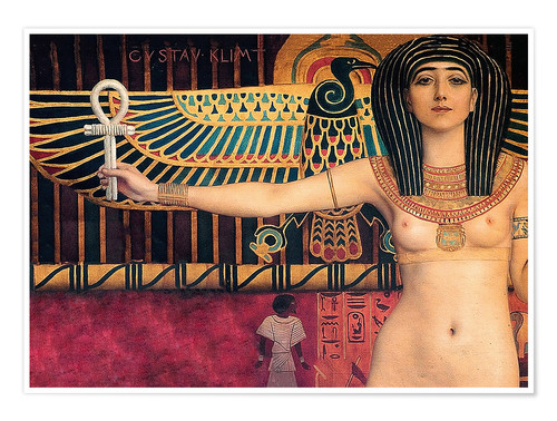 Premium poster Ancient Egypt (Isis)