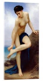 Acrylic print  After the bath - William Adolphe Bouguereau