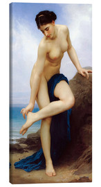 Canvas print  After the bath - William Adolphe Bouguereau
