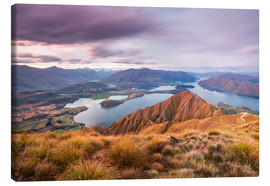 Canvas print  Wanaka lake, New Zealand - Matteo Colombo