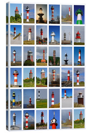 Canvas print  Lighthouses - Sarnade