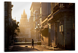 Acrylic print  Road at dawn, Havana - Lee Frost