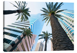 Canvas print  Downtown, Los Angeles, California, United States of America, North America - Gavin Hellier