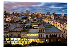 Acrylic print  View over Havana - Lee Frost
