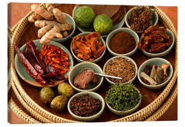 Canvas print  Spices from the Thai cuisine - Luca Tettoni