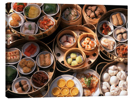 Canvas print  Dimsum, China - Luca Tettoni