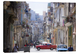 Canvas print  In the streets of Havana - Lee Frost