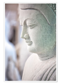 Premium poster  Buddha statue in Myanmar - Lee Frost