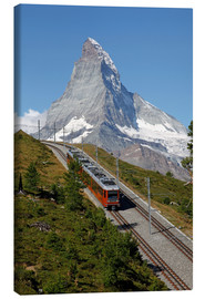 Canvas print  Excursion to the Matterhorn - Hans-Peter Merten