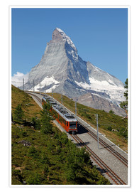 Premium poster  Excursion to the Matterhorn - Hans-Peter Merten