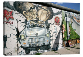 Canvas print  East Side Gallery, Berlin - Hans-Peter Merten