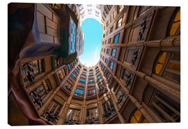 Canvas print  Interior of La Pedrera - James Emmerson