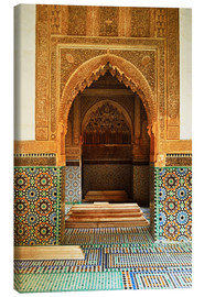 Canvas print  Saadian Tombs in Medina - Jochen Schlenker