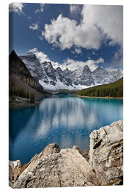 Canvas print  Moraine Lake in the fall - James Hager