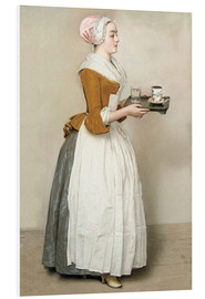 Forex  The Chocolate Girl - Jean Etienne Liotard