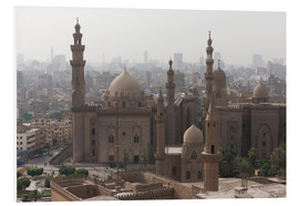 Foam board print  Mosque of Sultan Hassan in Cairo old town, Cairo, Egypt, North Africa, Africa - Martin Child